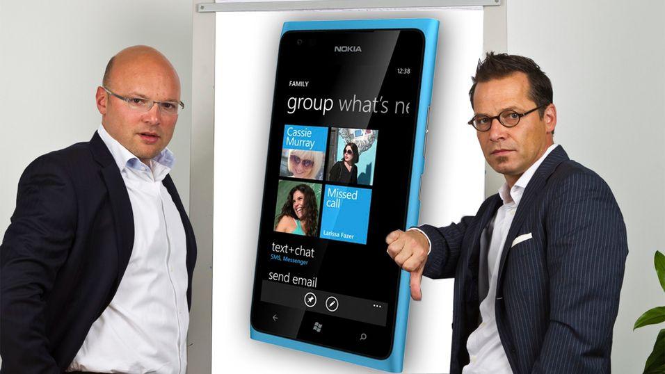 Fire av europas største operatører mener Lumia-modellene fra Nokia er for dyre og for dårlige. (Illustrasjon: Montasje/IstockPhoto)