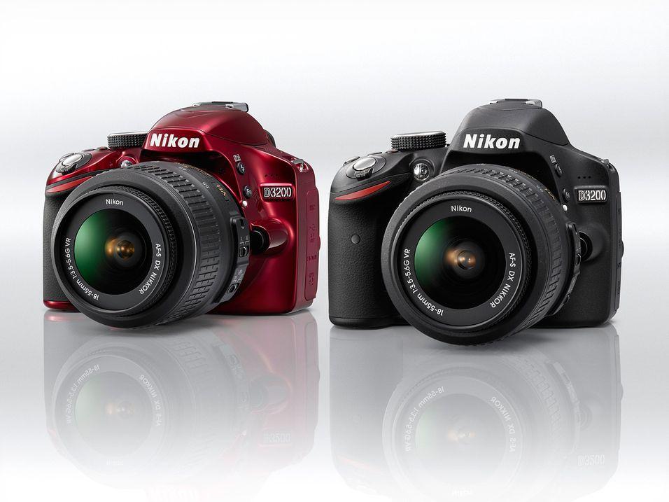 Nikon lanserer D3200 med ekstremoppløsning