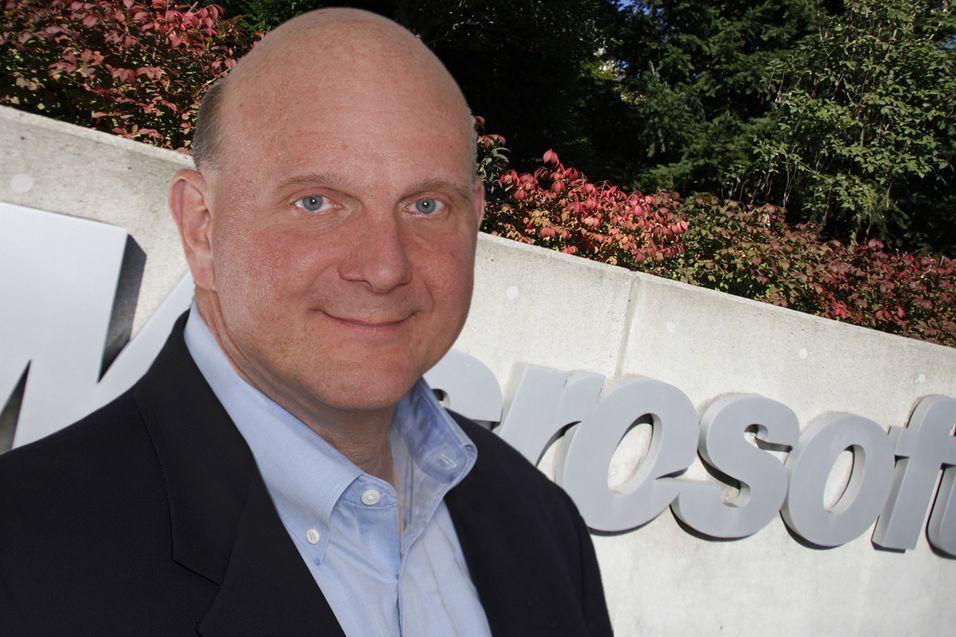 Steve Ballmer, administrerende direktør i Microsoft.