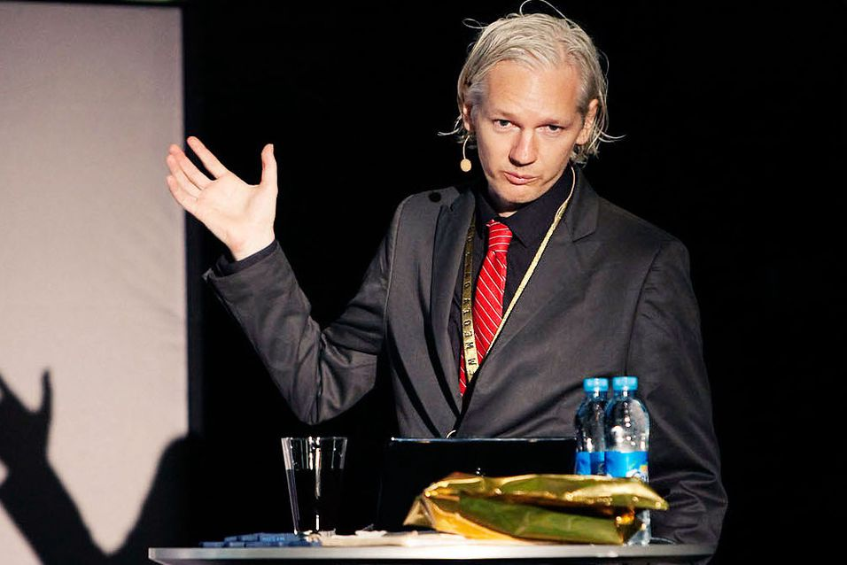 Julian Assange. Foto: New Media Days