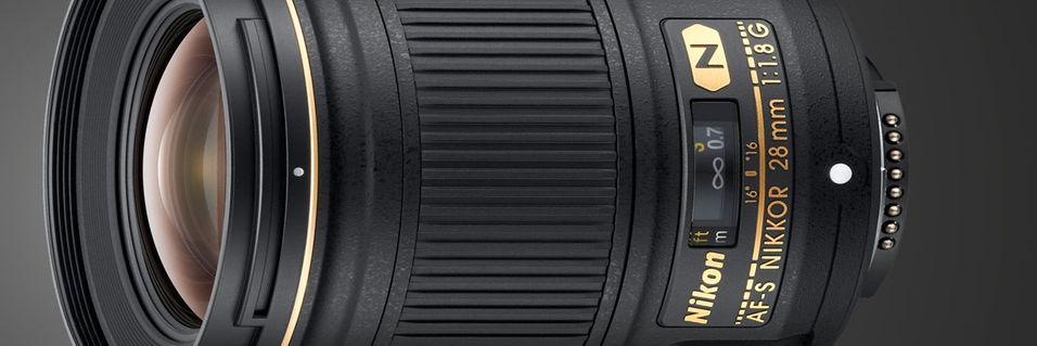 Lyssterk vidvinkel fra Nikon