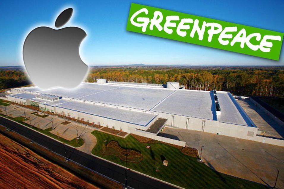 Apple og Greenpeace krangler etter undersøkelse