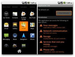 Følg med på hva Android-appene ber om av tillatelser når du installerer dem. Den falske Instagram-appen ber for eksempel om tillatelse til å kunne sende SMS-er.