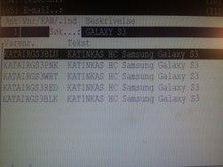 Disse varelinjene skal være deksler til Samsungs kommende toppmodell.