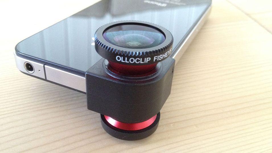 Olloclip gjør iPhone til systemkamera
