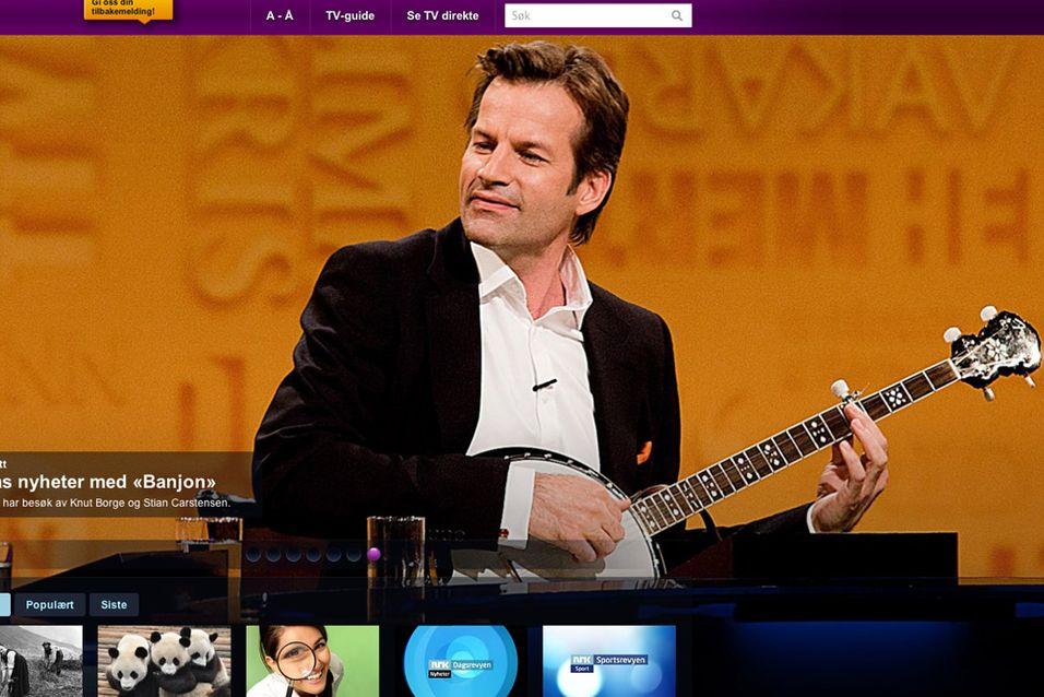 Nå kan du teste NRKs nye nett-TV