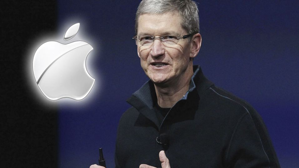 Apple-sjefen Tim Cook.