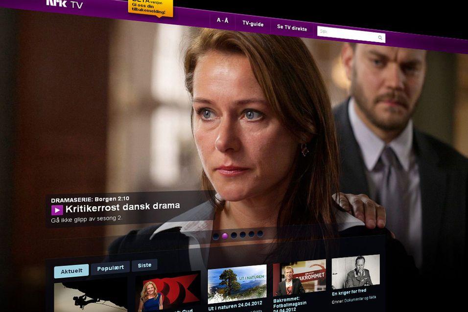 SNIKTITT: Slik er NRKs nye nett-TV