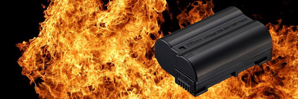 Nikon-batterier smelter