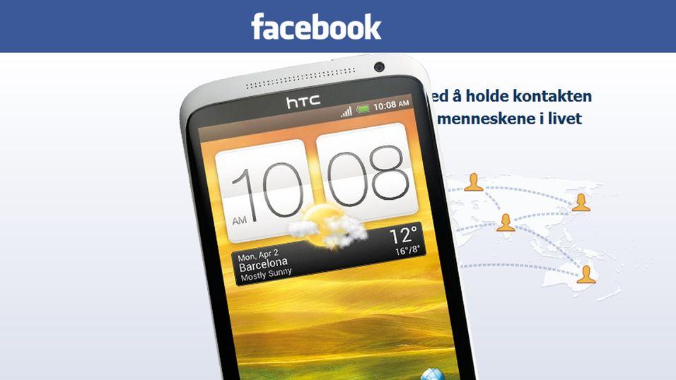 Kanskje kommer Facebook-telefonen