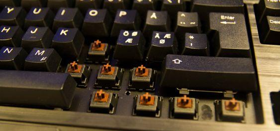 Med NKRO kan du trykke inn så mange knapper du bare vil, og alle vil bli registrert. Dette er kun mulig på mekaniske tastaturer.