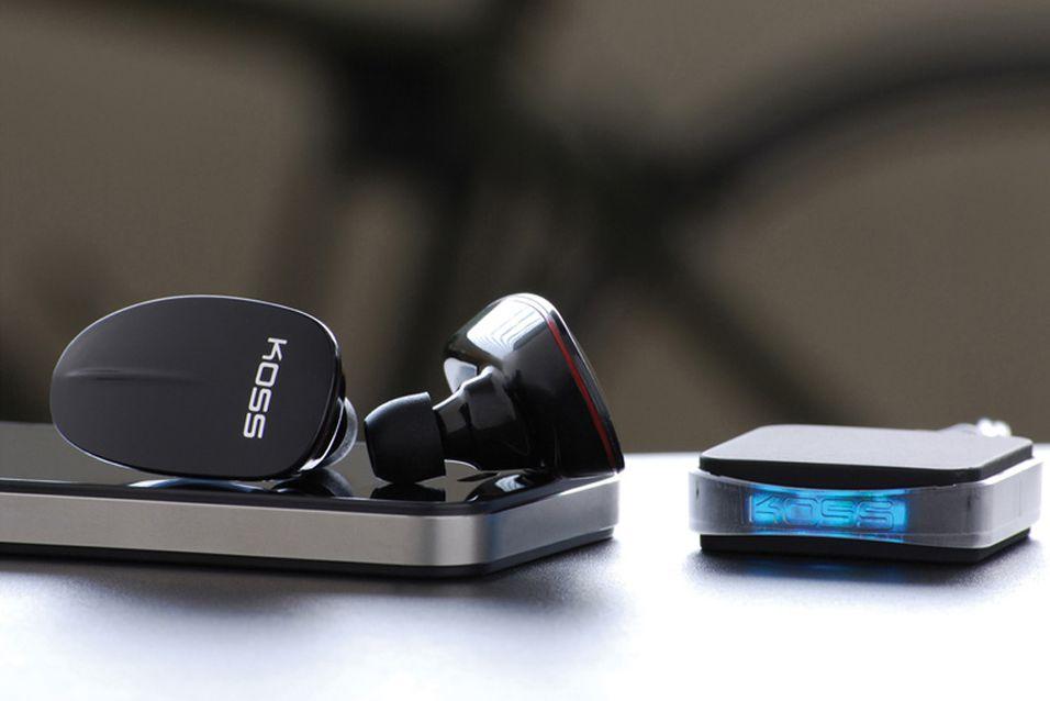 Hodetelefoner streamer musikk rett fra nett