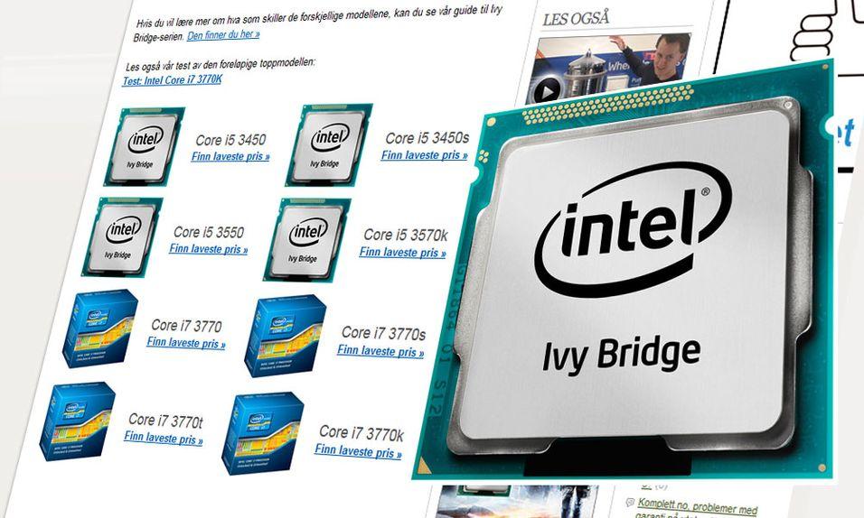 Nå er Intels nye prosessor i butikken