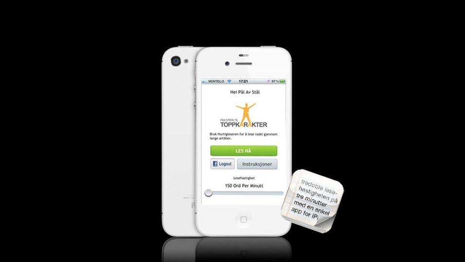 Denne appen vil øke lesehastigheten din