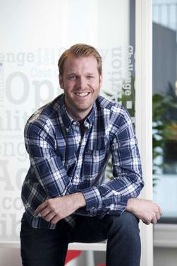 Produkt- og markedssjef Axel Krabberød i Tele2.