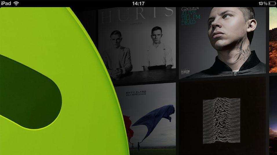 Spotify er klar med iPad-versjon