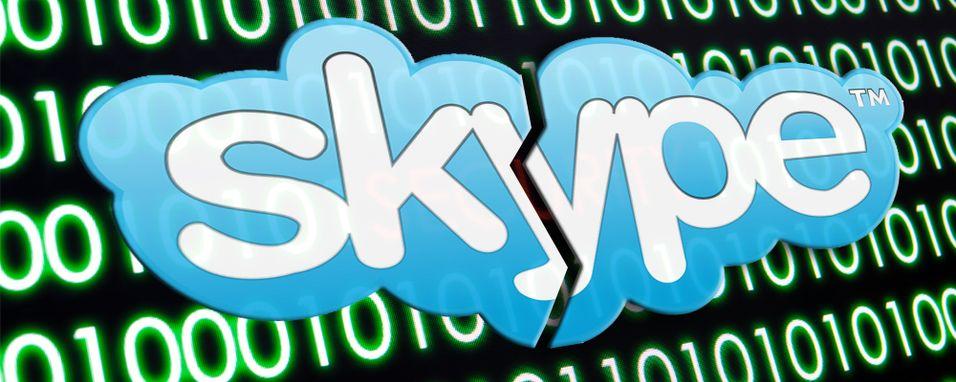Skype er i trøbbel