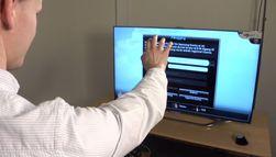 TV-en ser håndbevegelser