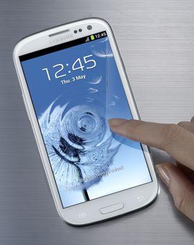Samsung Galaxy S III er en av de mest solgte Android-mobilene for tiden.