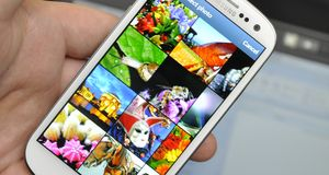 Se Samsung Galaxy S III i aksjon