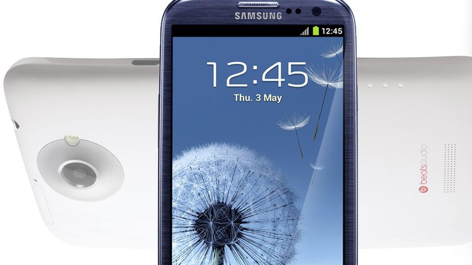 Galaxy S III gruser HTC One X