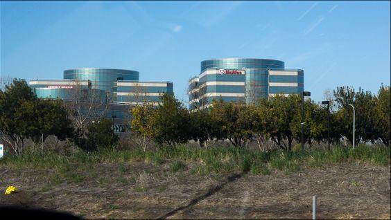 McAfees kontorer i Santa Clara.