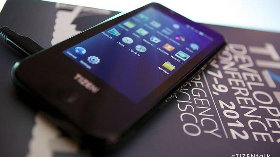 Samsungs nye mobil-OS kom først i et kamera