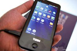 Dette er Samsungs første referansetelefon for Tizen.