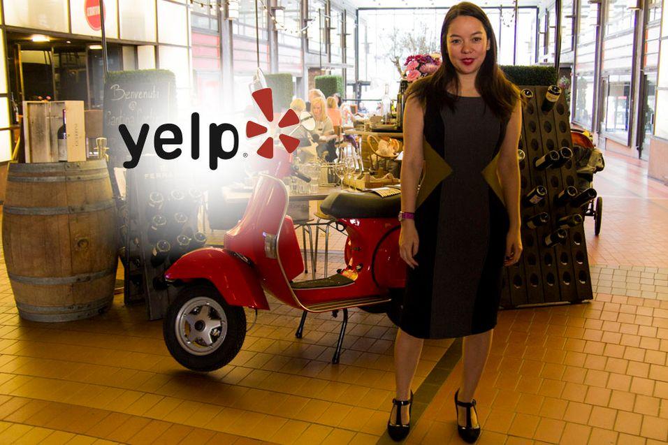 Miriam Warren fra Yelp tok turen til Oslo for å være med på den norske lanseringen av nettsiden.
