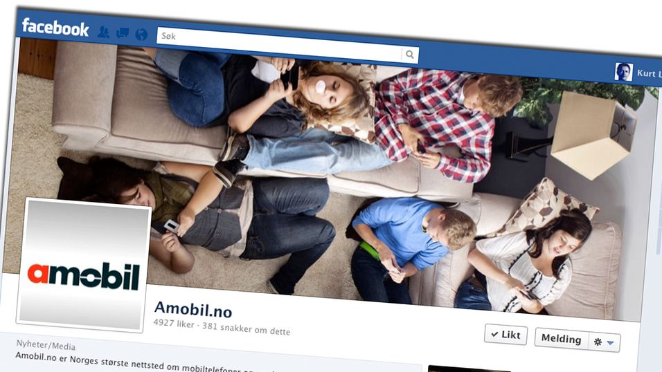 KONKURRANSE: Vi feirer 5000 Facebook-tilhengere