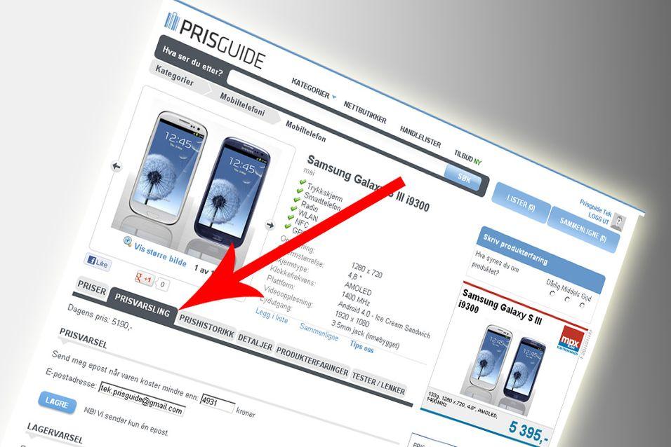 PRISGUIDE: Har du prøvd prisvarslingen ennå?