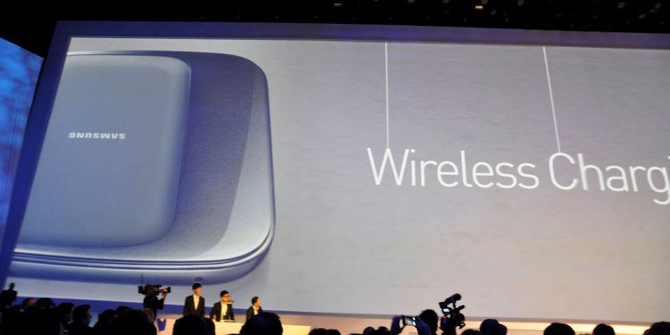 Trådløs lading av Galaxy S III er utsatt