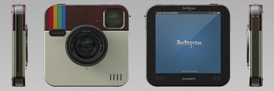 Dette kameraet tar bilder på Instagram-vis