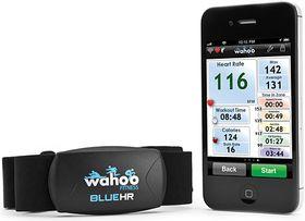 """Pulsbelter finnes i en rekke ulike varianter. Dette kobler seg til via Bluetooth 4.0 """"low energy"""", og er beregnet på iPhone 4S eller nyere."""