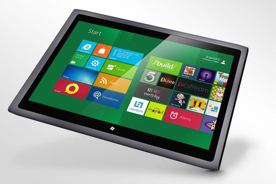 – Windows 8-nettbrett kommer i november