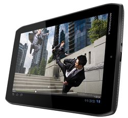 Motorola Xoom 2 Media Edition har litt mindre skjerm enn Xoom 2.