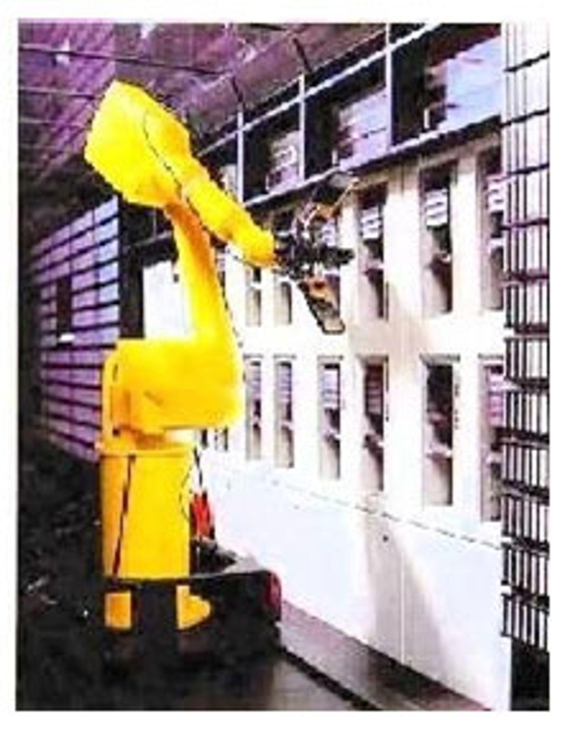 Arkiveringsrobot fra 1995. Bilde: IBM