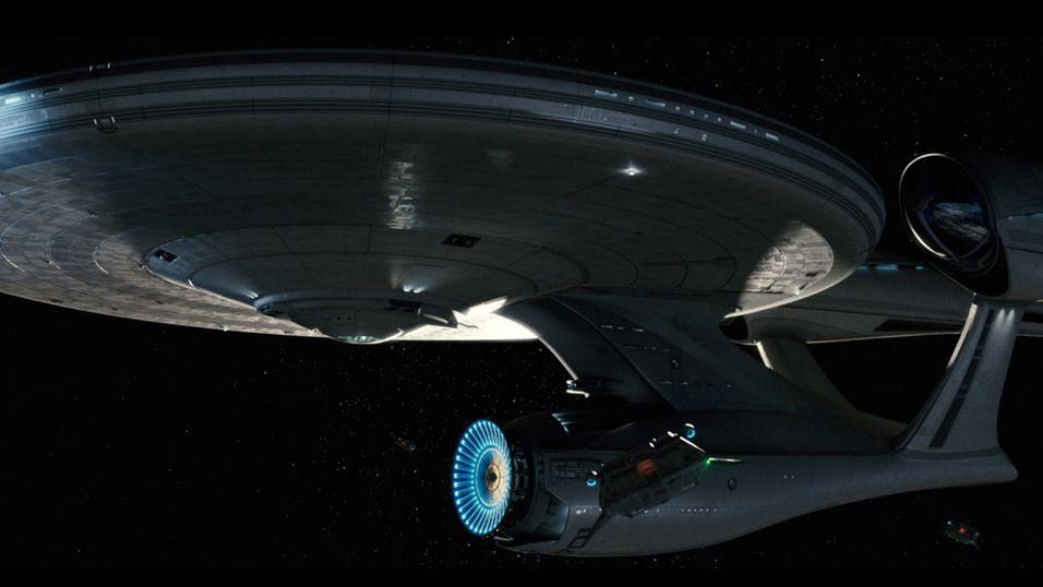 USS Enterprise fra den nyeste Star Trek-filmen.