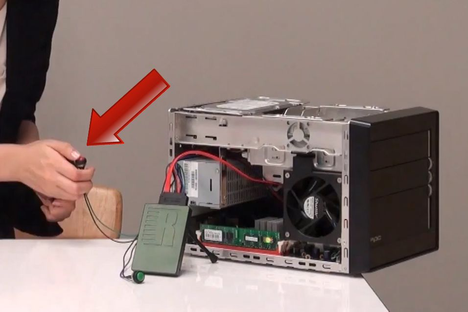 Denne SSD-en kommer med en farlig knapp