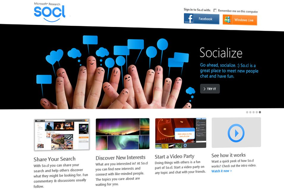 Nå kan du bli medlem av Microsofts nye sosiale nettverk