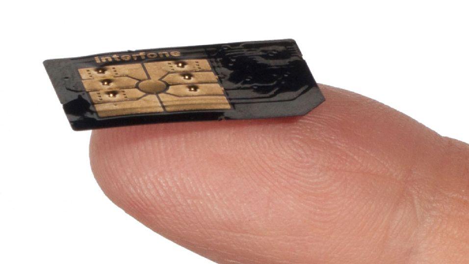 Klistre-på-SIM lanseres i Norge
