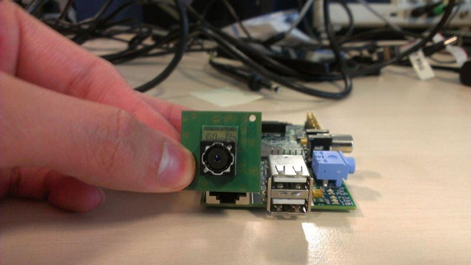 Nå skal Raspberry Pi få kamera
