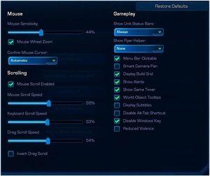Starcraft 2 lar deg bruke Windows-innstlinngene for pekerhastigheten, men hvis du absolutt vil velge selv er det magiske nummeret 51.