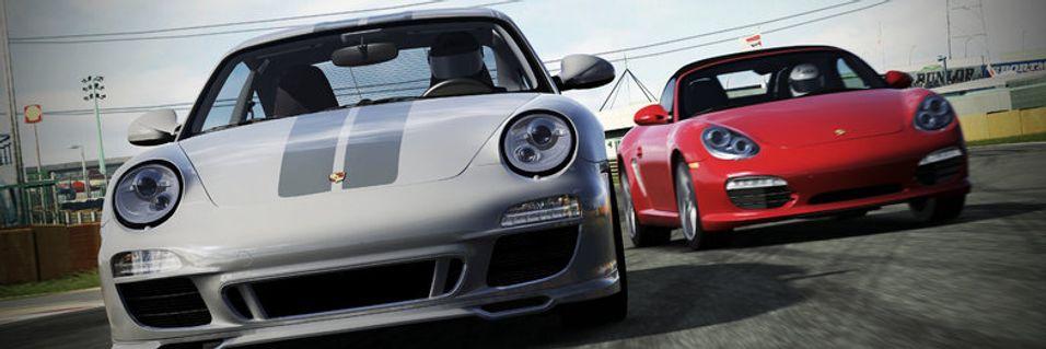 Porsche svir gummi i Forza 4