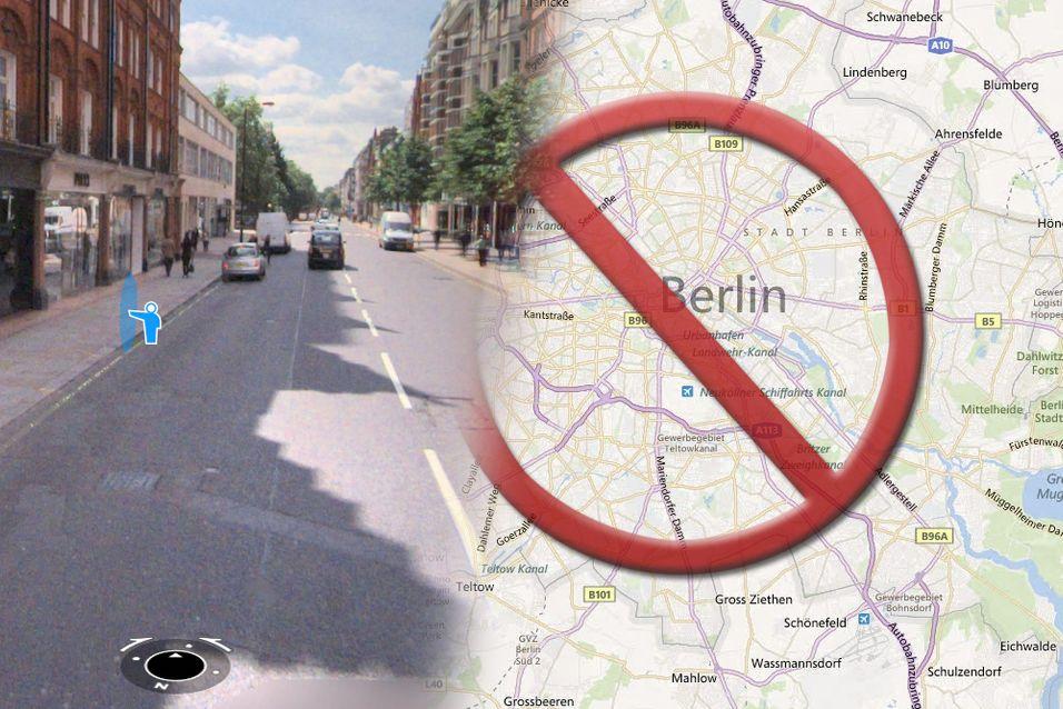 Microsoft trekker tilbake Tyskland-bilder