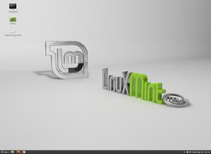 Slik ser Linux Mint ut med Cinnamon 1.4.