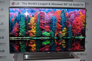 Den nye OLED-TV-en fra LG ser meget bra ut.