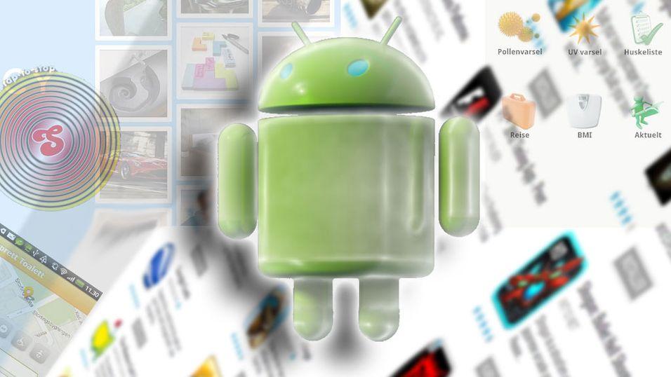 Voilà, rykende ferske Android-apper