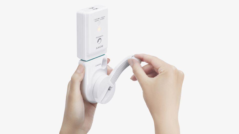 Denne USB-laderen er hånddreven