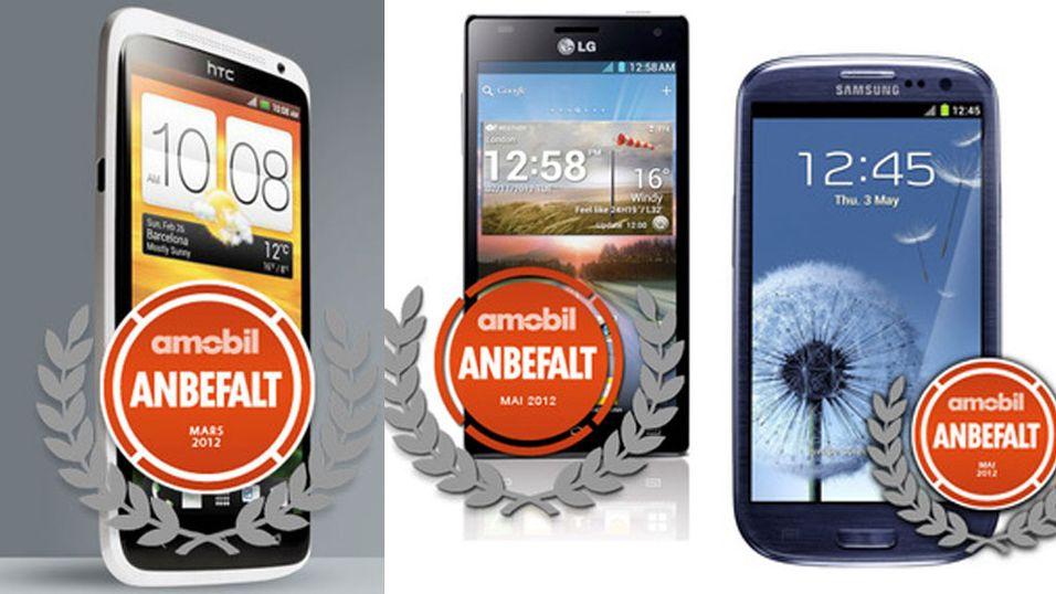 SAMLETEST: Her er de ti råeste smartmobilene